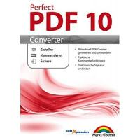 PDF-Software Perfect PDF 10 CONVERTER PDF Dateien Erstellen, Umwandeln, Kommentieren Windows 10, 8.1, 8, 7